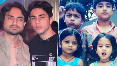 Aryan Khan's Cousins Arjun, Alia Chhiba Share Pictures With Him After Court Grants Bail