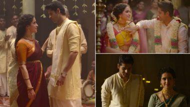 Meenakshi Sundareshwar Song Mann Kesar Kesar: Sanya Malhotra, Abhimanyu Dassani's Track Is a Soothing Melody With Warmth and Love (Watch Video)