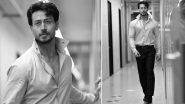Tiger Shroff Shares Monochrome Pictures From the Sets of Heropanti 2, Sister Krishna Shroff Calls Him a 'Stud Muffin'