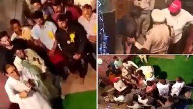 Punjab Congress MLA Joginder Pal Thrashes Man for Asking About Constituency Work in Boha (Watch Video)