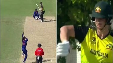 Virat Kohli Bowls to Steve Smith During IND vs AUS, T20 World Cup 2021 Warm-Up Game, Netizen Highlights This Amazing Coincidence in Viral Tweet