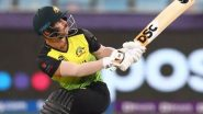 SL vs AUS Stat Highlights, T20 World Cup 2021: David Warner Shines With The Bat As Australia Registers a Win by 7 Wickets