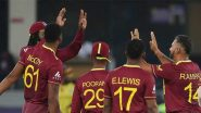 How To Watch SA vs WI Live Streaming Online T20 World Cup 2021? Get Free Live Telecast of South Africa vs West Indies Group 1 Super 12 Cricket Match Score Updates on TV